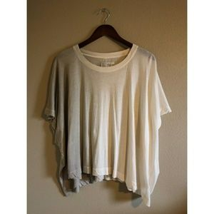Anthropologie crop ombre top.